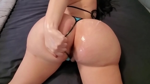 Lustful & big booty pawg fail butt fucked JOI