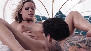Raw plowing hard together with tattooed girlfriend