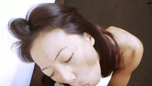 Nude asian married babe enjoys plowing hard