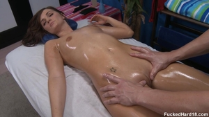 Hardcore hard slamming escorted by Lily Carter