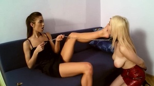 Horny blonde hair raw BDSM ass fucked in HD