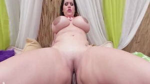 Raw hard ramming in company with Angelina Castro