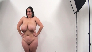 Pussy fuck at castings alongside big butt babe