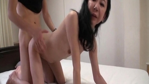 Huge tits asian amateur feels up to delight rough sex