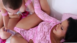 Plowing hard along with Lily Labeau in HD