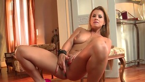 Tight blonde Dorothy Black digs hard slamming in HD