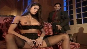 Julia Channel and Beatrice Valle group sex