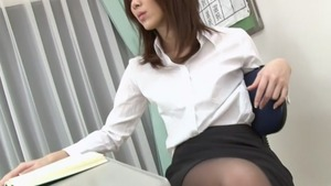 Riko Miyase cock sucking