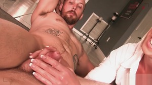 Oily rough fucking escorted by big tits amateur