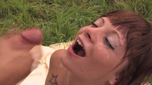 Antonia Deona getting a facial