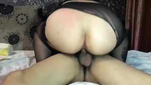 Cumshot with big tits asian amateur